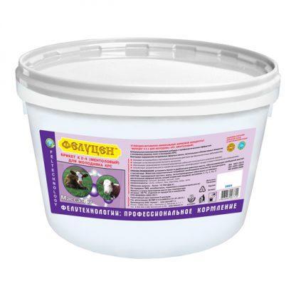 kompleks kormovoj felucen k2 4 dlya molodnyaka krupnogo rogatogo skota mentolovyj litera 3884 briket 4 kg