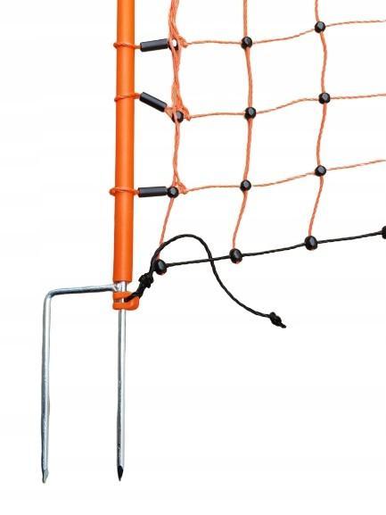siatka elektryczna dla drobiu 50m 112 cm paliki